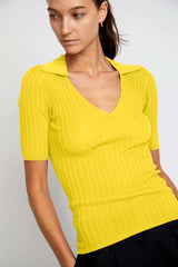 Adele Ribbed Knit Top