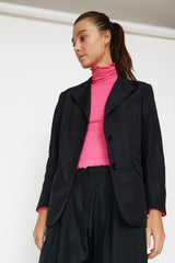 LEON Cotton-Blended Boxy Blazer