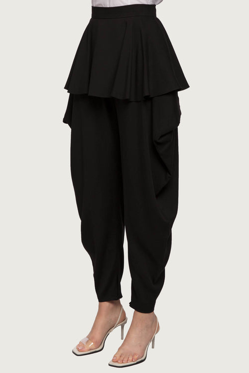DONNA Flounce Trousers