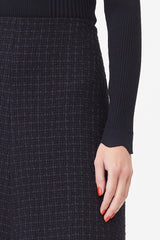 TAILORED | Midnight Tweed Skirt
