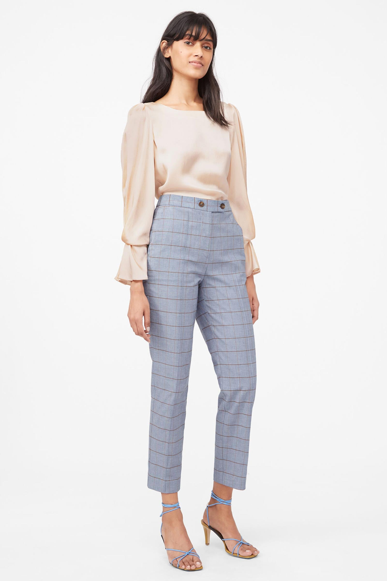 TAILORED | Windowpane Twill Trouser