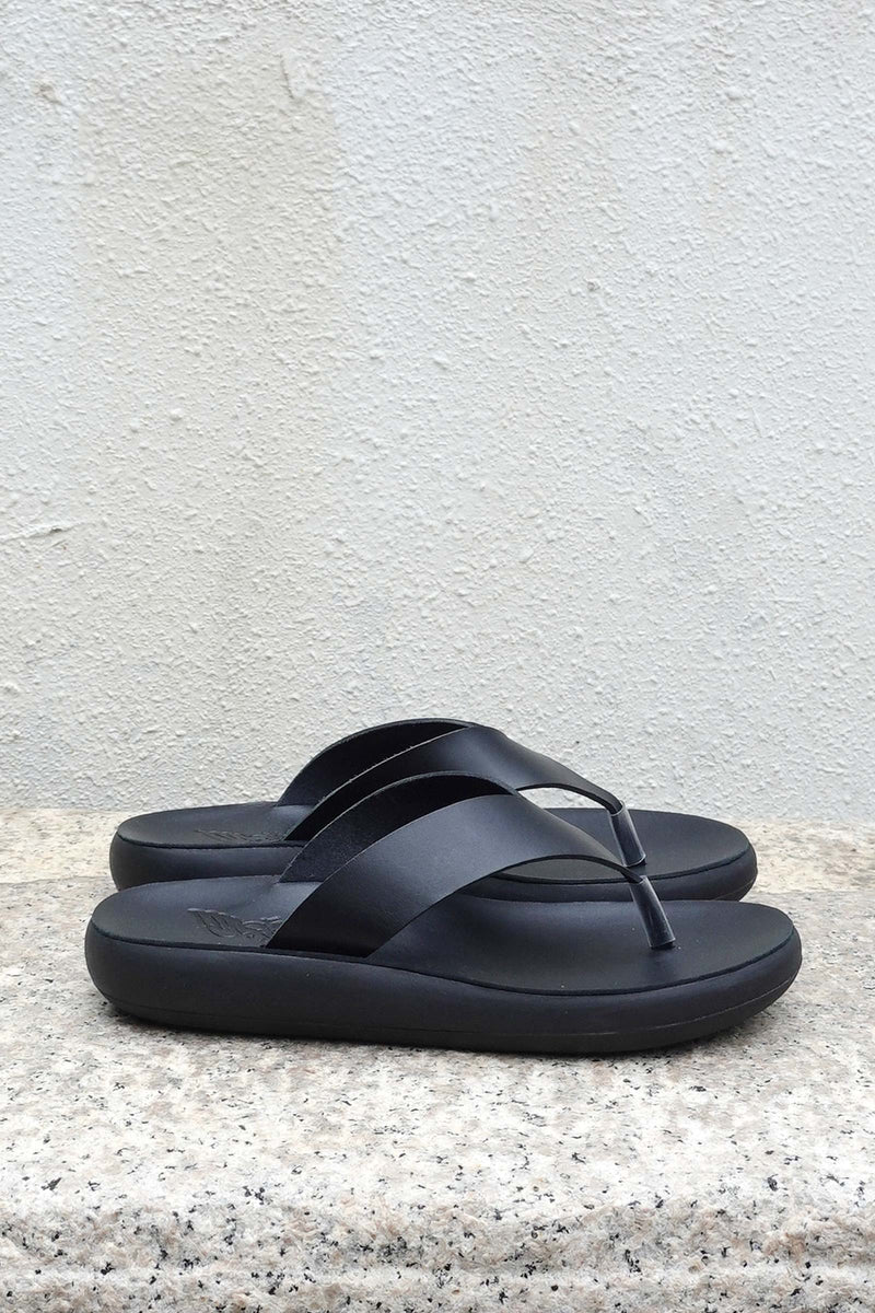 CHARYS Leather Thong Sandals