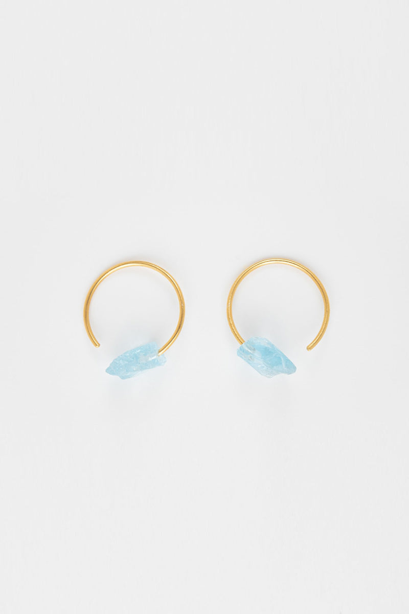 Crystalline Rainbows Hoops