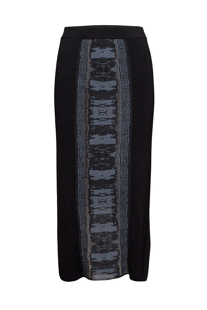 LUCY Graphic Knit Pencil Skirt