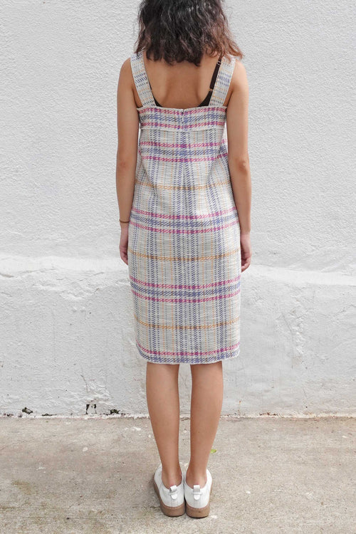RITA Check Jacquard Shift Dress