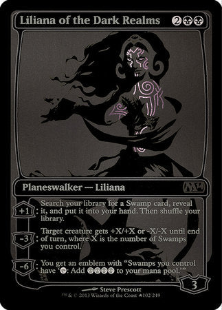 Liliana of the Dark Realms SDCC 2013 EXCLUSIVE [San Diego Comic-Con 2013] | Grey Ogre Games
