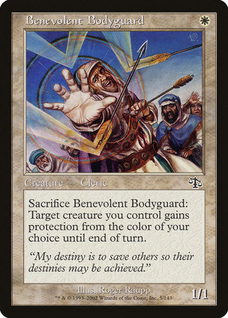 Benevolent Bodyguard [Judgment] | Grey Ogre Games