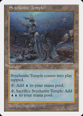 Svyelunite Temple [Fifth Edition] | Grey Ogre Games