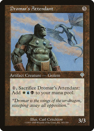 Dromar's Attendant [Invasion] | Grey Ogre Games