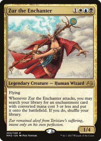 Zur the Enchanter [Modern Masters 2017] | Grey Ogre Games