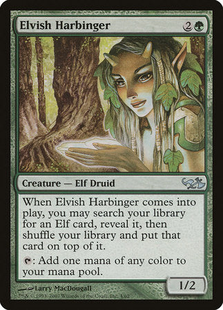 Elvish Harbinger [Duel Decks: Elves vs. Goblins] | Grey Ogre Games