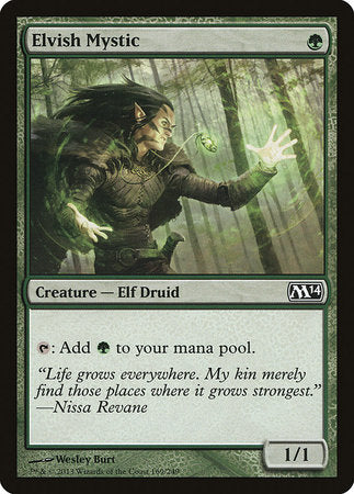 Elvish Mystic [Magic 2014] | Grey Ogre Games