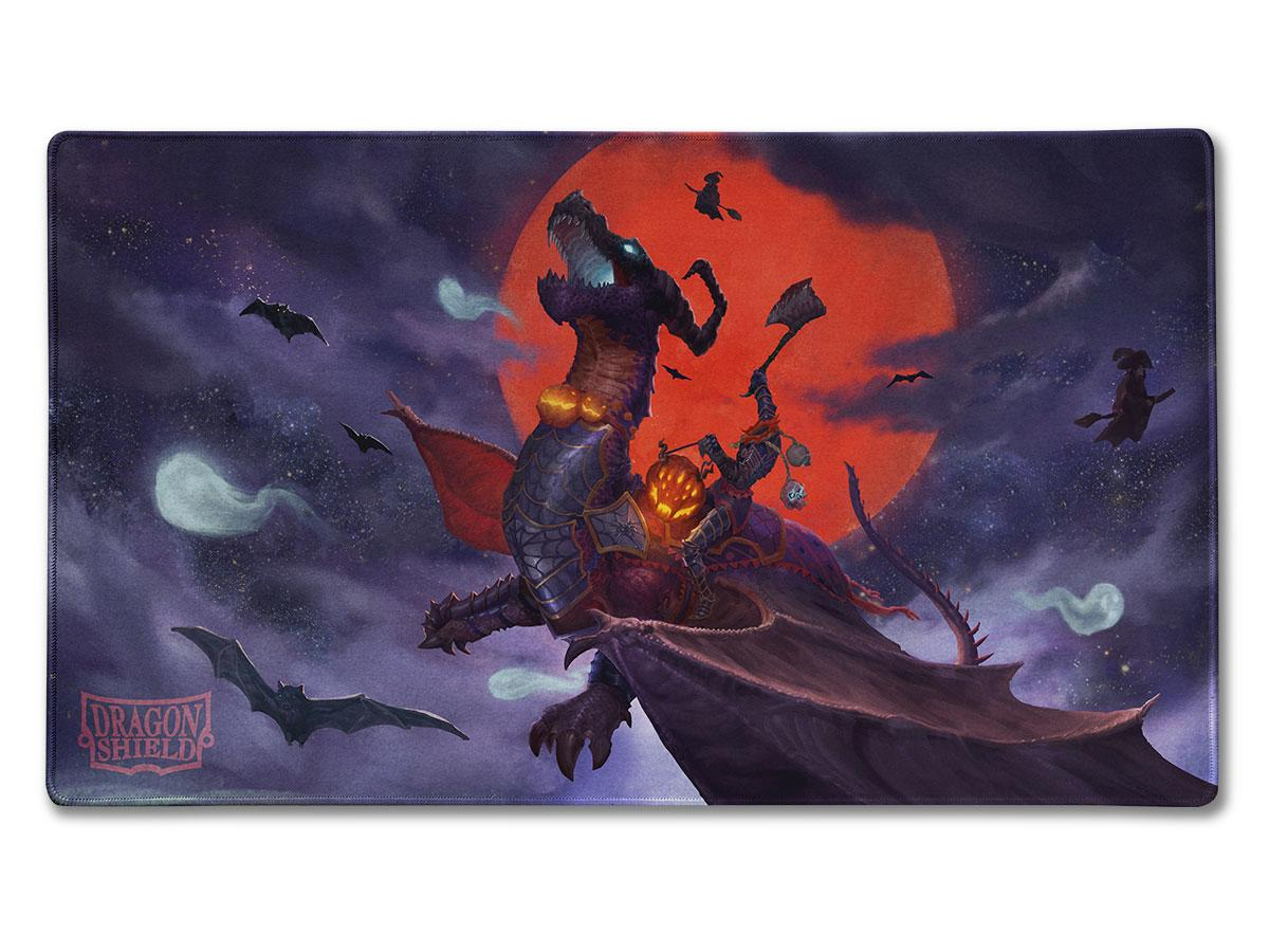 Dragon Shield Playmat: Halloween Dragon | Grey Ogre Games