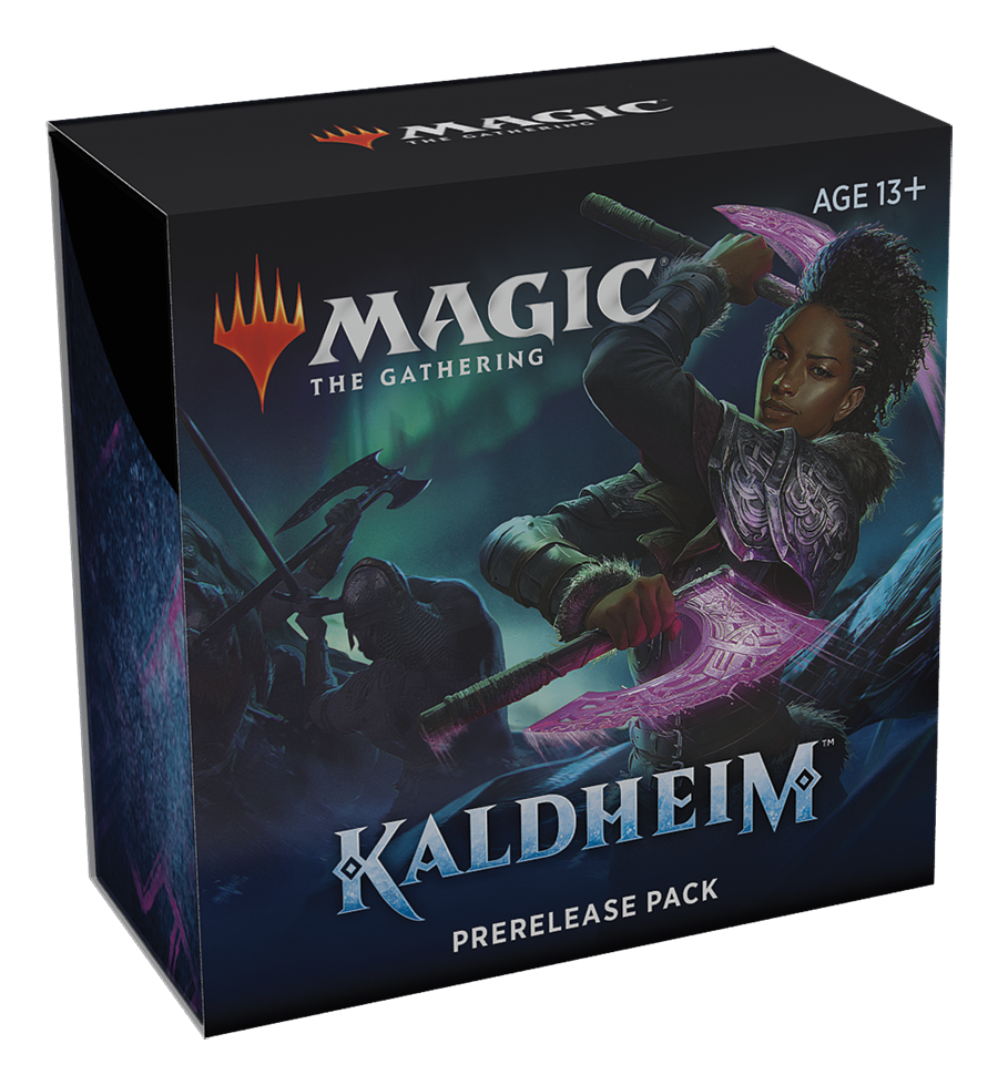 (PREORDER) Kaldheim KHM Prerelease Kit + 1 KHM Draft Booster | Grey Ogre Games