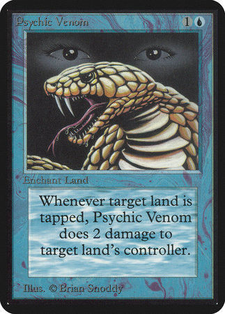 Psychic Venom [Limited Edition Alpha] | Grey Ogre Games
