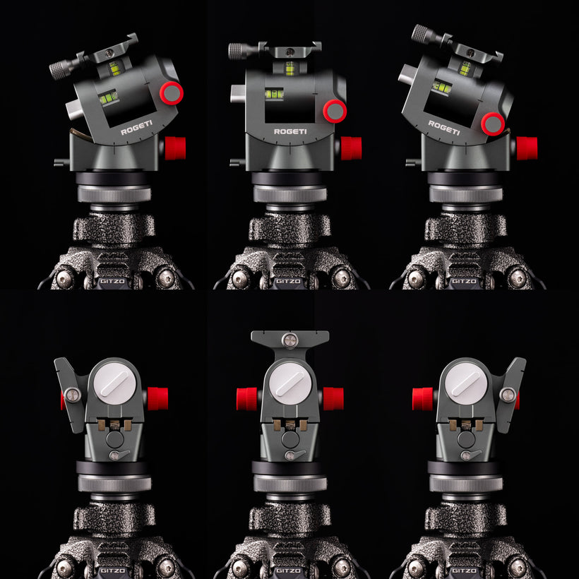 Geared Tripod Head