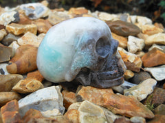 Amazonite  Crystal Skull 1.8""