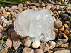Alien Quartz Crystal Skull 2.5""