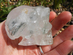 Alien Skull Quartz with Chlorite 2.5""