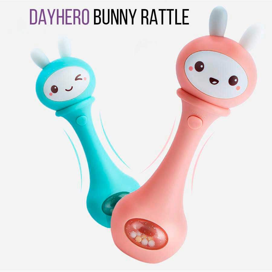 Bunny Rattle [Interactive Educational & Music Toy]