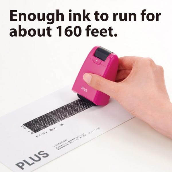 Identity Protection Roller Stamp