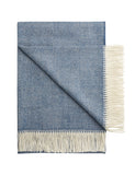 The Wanderlust Blanket - Blue Motif