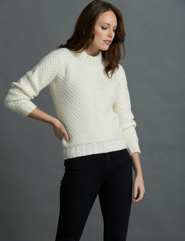The Baby Alpaca Sweater