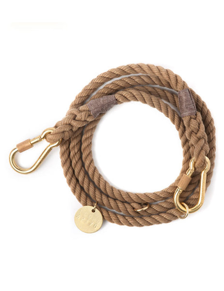 Natural Rope Dog Leash