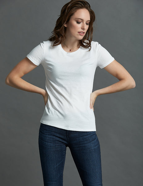 The Essential T Shirt - Straight Hem