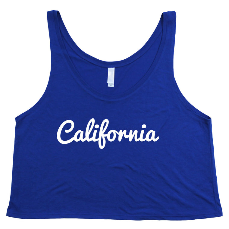 Womens California Cropped Vest