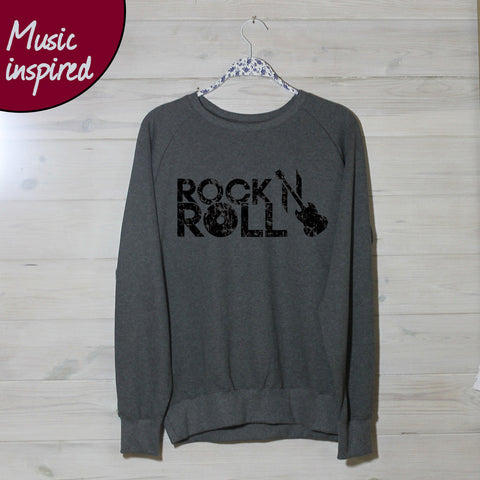 Mens Rock N Roll Sweatshirt