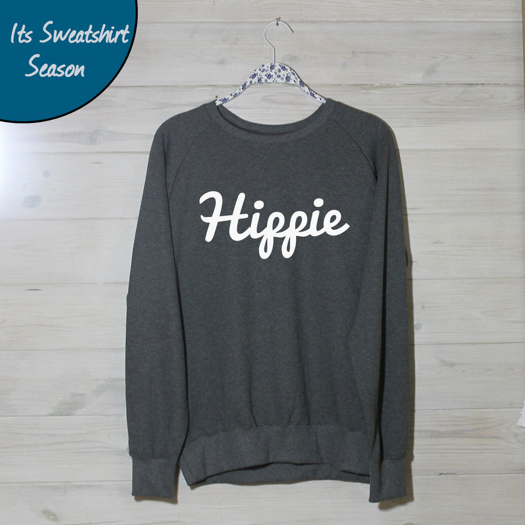 Mens Hippie Logo Sweatshirt