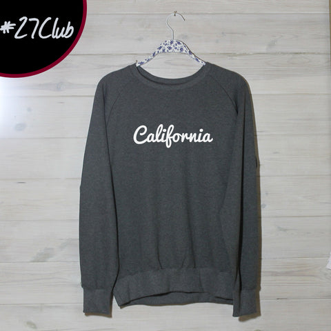 Mens California Logo Sweatshirt