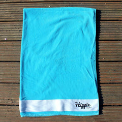 Hippie Surf Black Logo Beach Towel
