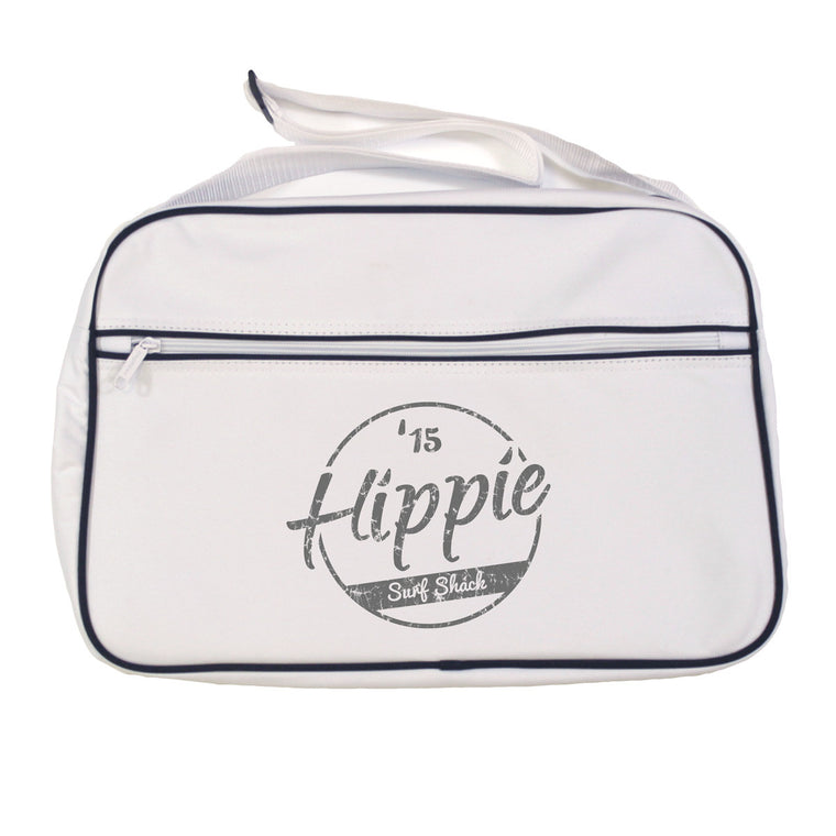 Hippie 15 Retro Shoulder Bag White
