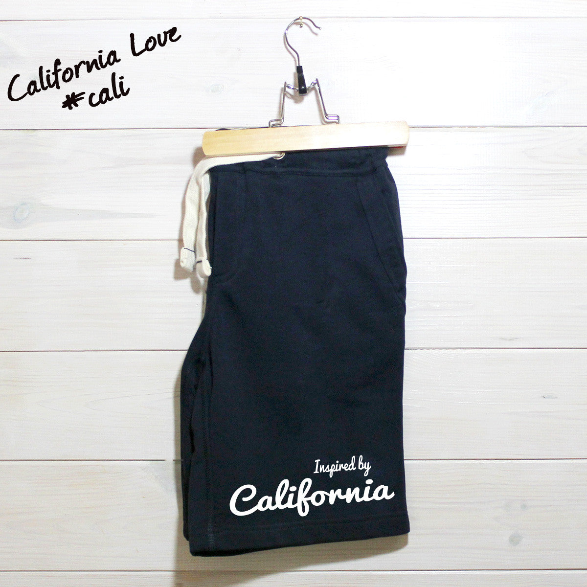 Mens Inspired By California Fleece Shorts