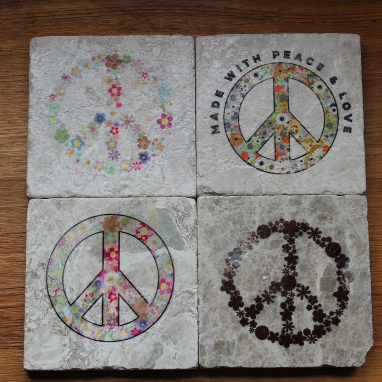 PEACE COASTER SET