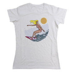 Womens Surfer Chick Tee
