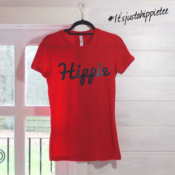 Womens Hippie Logo Basic Tee