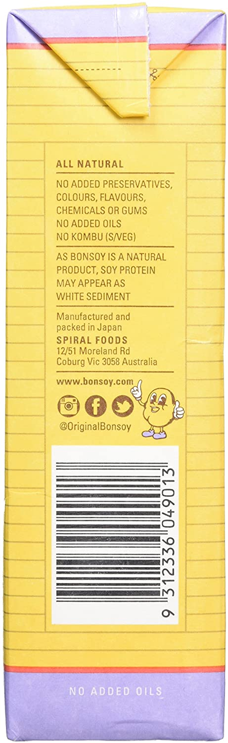 Milk - Bonsoy Original Organic Soy Milk