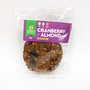 Cookie Cranberry & Almond 75gm (Box of 15)