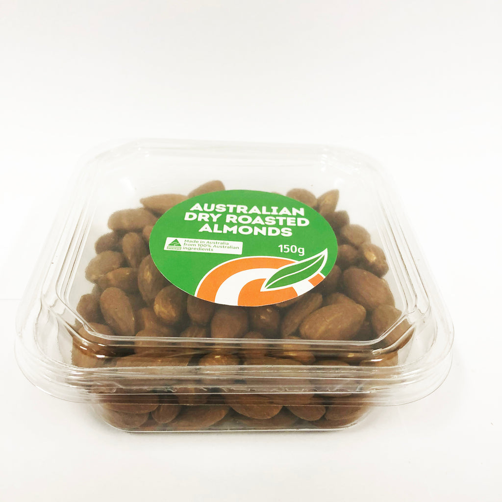 Almonds Dry Roasted 150g (Box of 12)