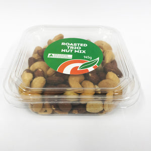 Roasted Trio Nut Mix 145g (Box of 12)