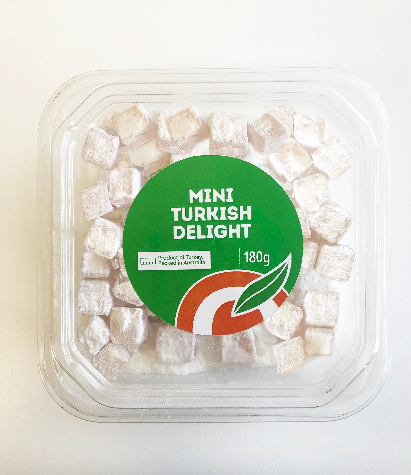 Mini Turkish Delight Rose 180g (Box of 12)