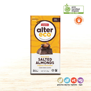 Chocolate - Alter Eco Salted Almonds