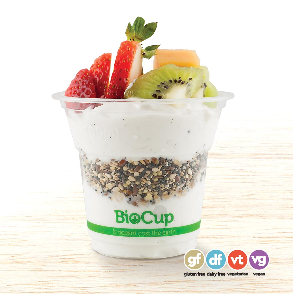 Organic Coconut Yoghurt with Kai-Ora Raw Seed Mix