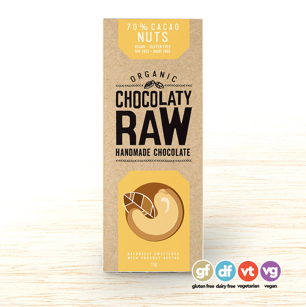 Chocolatey Raw Bar Nut