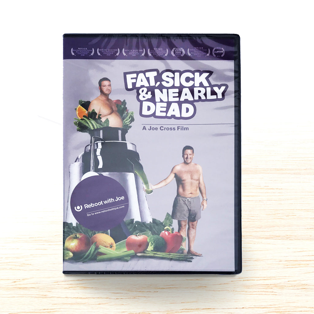 Fat, Sick & Nearly Dead DVD - Organic Food Delivered - Oliver's Real Food