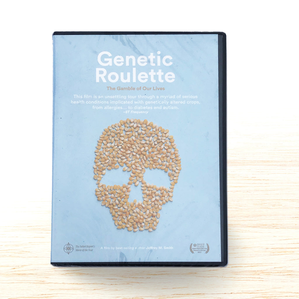 Genetic Roulette - The Gamble of Our Lives DVD - Organic Food Delivered - Oliver's Real Food