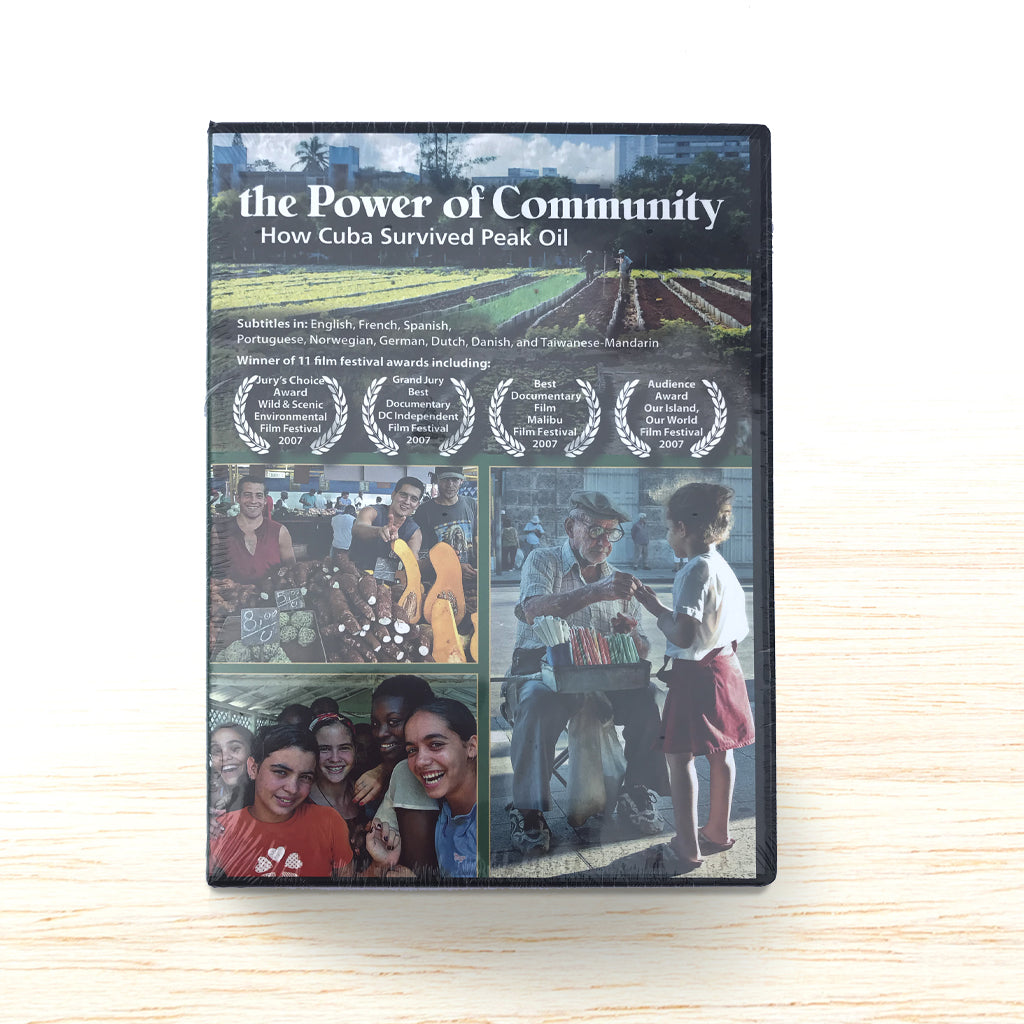 The Power of Community - How Cuba Survived Peak Oil DVD - Organic Food Delivered - Oliver's Real Food